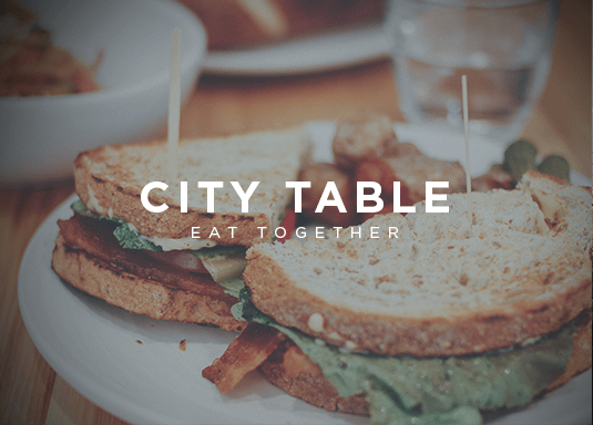 Eating, table